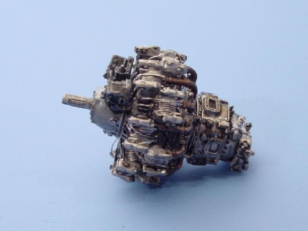 Engines/engine sets - AIRES, hobby plastic models