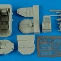 Accessory for plastic models - Me 262A cockpit set