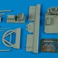 Accessory for plastic models - N1K1 Shiden cockpit set