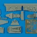 Accessory for plastic models - Hurricane Mk.I cockpit set