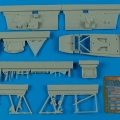 Accessory for plastic models - MiG-3 cockpit set