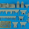 Accessory for plastic models - F-5F Tiger II cockpit set