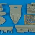 Accessory for plastic models - F8F-1 Bearcat cockpit set