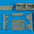 Accessory for plastic models - T-28 Trojan cockpit set