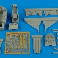 Accessory for plastic models - F-100C Super Sabre - early cockpit set