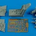 Accessory for plastic models - Bf- 109E-3/E-4 cockpit set