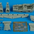 Accessory for plastic models - F-14A Tomcat cockpit set
