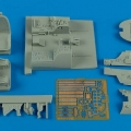 Accessory for plastic models - A1H Skyraider cockpit set