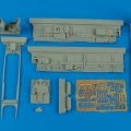 Accessory for plastic models - Bf 110D-3 cockpit set