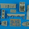 Accessory for plastic models - Me 410B-2/U4 cockpit set