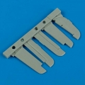 Accessory for plastic models - Fw 190A control surfaces
