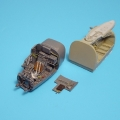 Accessory for plastic models - Ar 234B BLITZ wheel bay & cockpit set