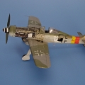 Accessory for plastic models - Focke-Wulf Fw 190D detail set