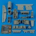 Accessory for plastic models - J35F Draken detail set