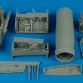 Accessory for plastic models - F-8J Crusader detail set