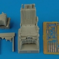 Accessory for plastic models - K-36L ejection seat for Su-25K