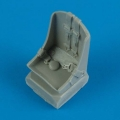 Accessory for plastic models - P-47D/M/N Thunderbolt seat with safety belts