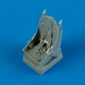 Accessory for plastic models - P-39 Airacobra seat with safety belts