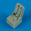 Accessory for plastic models - Me 262A seat with seatbelts