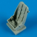Accessory for plastic models - Bf 109F - early seat with safety belts