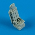 Accessory for plastic models - P-51D Mustang seat with safety belts