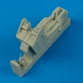 Accessory for plastic models - A-4 Skyhawk ejection seat with safety belts