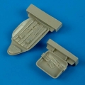 Accessory for plastic models - MiG-3 seat with safety belts