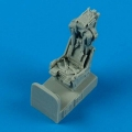 Accessory for plastic models - F-8 Crusader ejection seat with safety belts