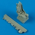 Accessory for plastic models - F-105 Thunderchief ejection seat with safety belts
