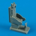 Accessory for plastic models - F-102A Delta Dagger seat with safety belts