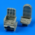 Accessory for plastic models - Ju 52 seats with safety belts