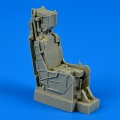Accessory for plastic models - A-7E Corsair II - late ejection seat with safety belts