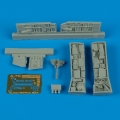 Accessory for plastic models - A-7E Corsair II electronic bay