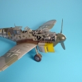 Accessory for plastic models - Bf 109G-6 engine set