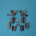 Accessory for plastic models - Me 410A1 detail engine set