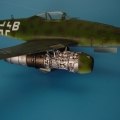 Accessory for plastic models - Me 262A SCHWALBE engine set