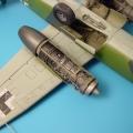 Accessory for plastic models - Ar 234B detail engine set