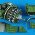 Accessory for plastic models - P-47D Thunderbolt engine set