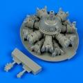 Accessory for plastic models - SB2C Helldiver engine