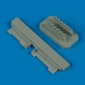 Accessory for plastic models - P-51B/C Mustang exhaust