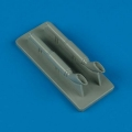 Accessory for plastic models - C-47 Skytrain exhaust