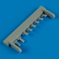 Accessory for plastic models - J2M3 Raiden exhaust