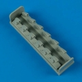 Accessory for plastic models - Bf 109F exhaust