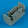 Accessory for plastic models - Spitfire Mk.I/la/lla exhaust - oval