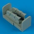 Accessory for plastic models - Spitfire Mk.I/la/lla exhaust - fishtail