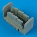 Accessory for plastic models - Hurricane Mk.I exhaust