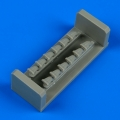 Accessory for plastic models - P-51A Mustang/Mk.IA exhaust