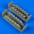 Accessory for plastic models - Heinkel He 111 H-1/3/6/8 exhaust