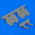 Accessory for plastic models - Ki45 Nick exhaust