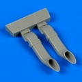 Accessory for plastic models - Westland Lysander exhaust